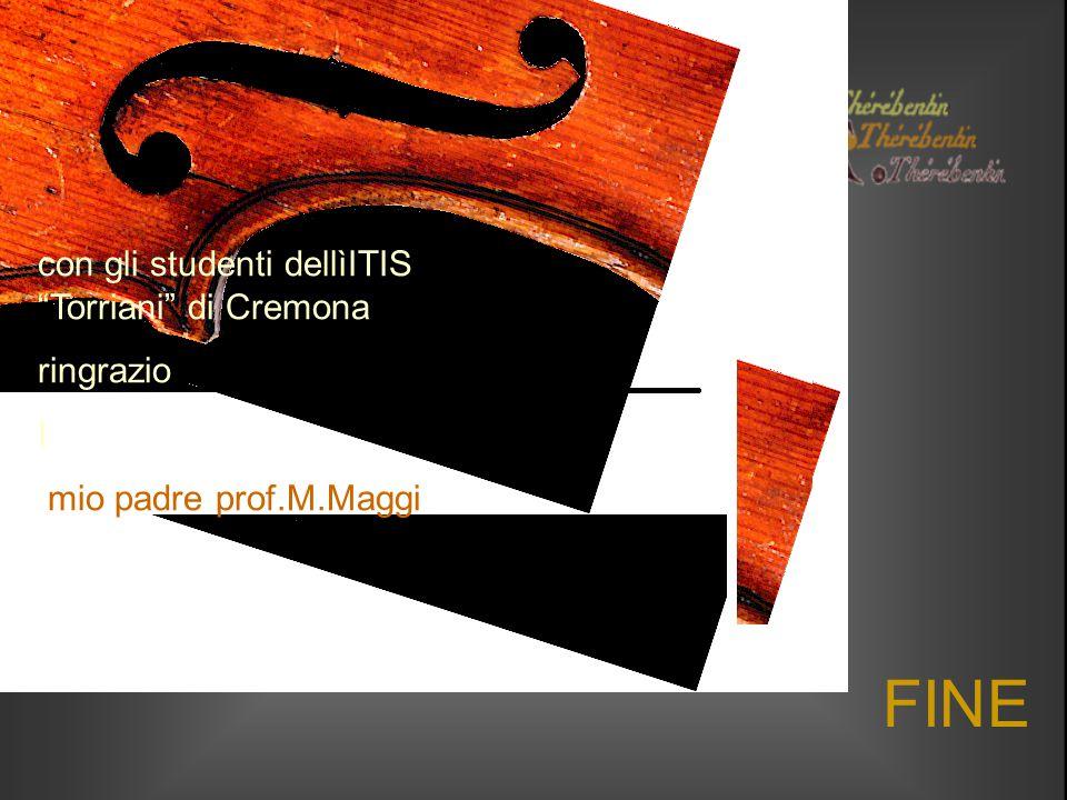"""FINE con gli studenti dellìITIS """"Torriani"""" di Cremona ringrazio I mio padre prof.M.Maggi"""