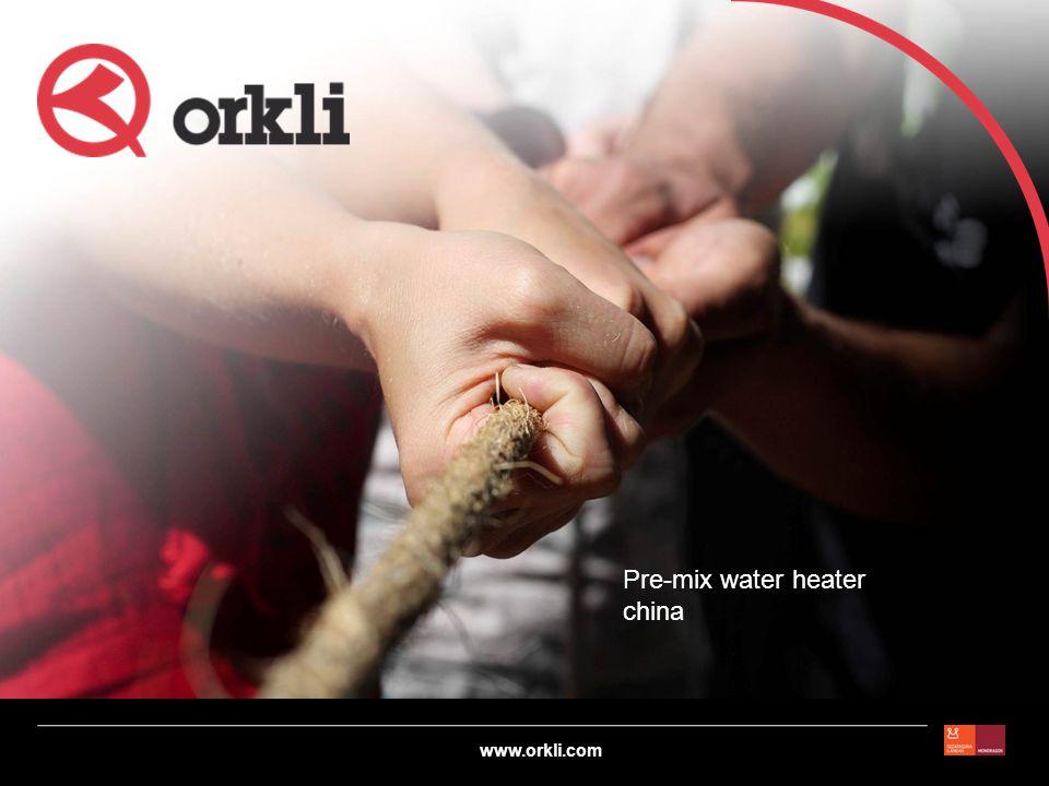 www.orkli.com Ao-smith (USA+China) Burner : metal fibers Ao smith china