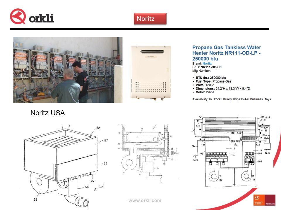 www.orkli.com Noritz USA Noritz