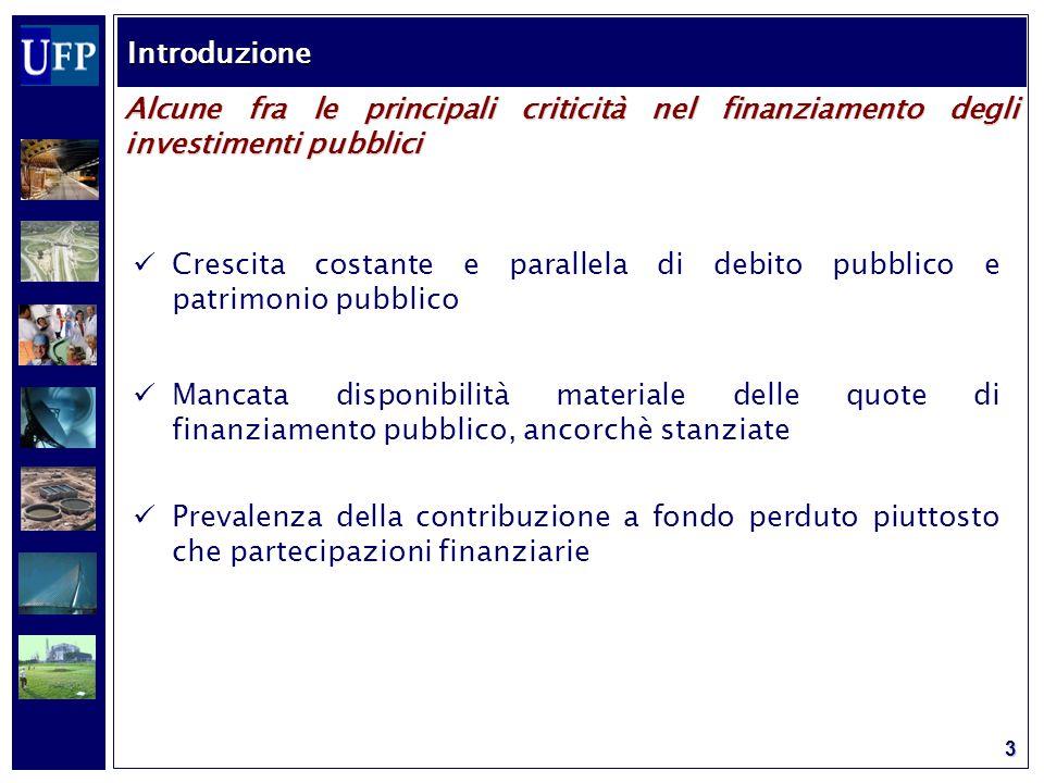 4 2000 Comunicazione interpretativa della Commissione UE sulle concessioni nel diritto comunitario 2003 Guidelines for successfull public private partnerships elaborate dalla Commissione UE – DG Regio 2004 Decisione EUROSTAT sul trattamento contabile delle operazioni in PPP 2004 Direttive del Consiglio UE nn.