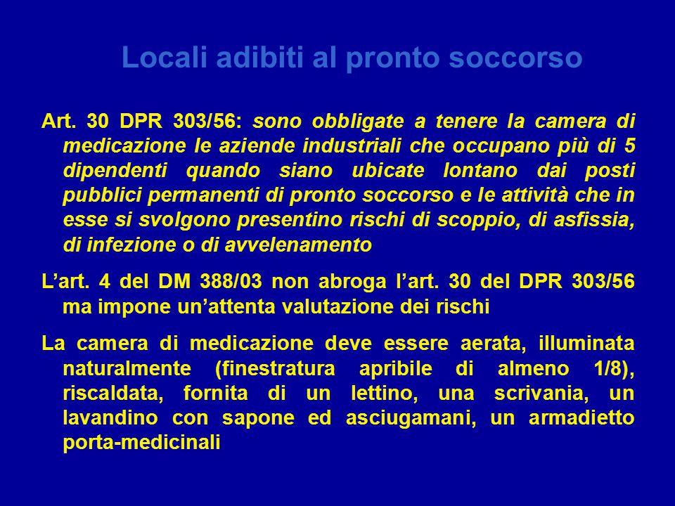 22 marzo 2007 – Centro Congressi Unione Industriale Assessorato alla tutela della salute e Sanità Locali adibiti al pronto soccorso Art.