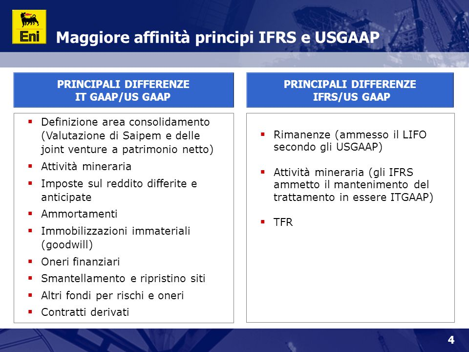 25 More details on IFRS first application and 1Q 2004 on our website at the following internet page: www.eni.it/investor IFRS - 2005 onwards  No impact on cash generation  Tax rate guideline unchanged  Higher volatility on inventory valuation according to market scenario  Wider use of fair value in place of historical cost