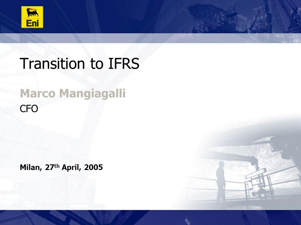 20 1 st January 2004 Consolidated Balance Sheet: ITGAAP vs IFRS