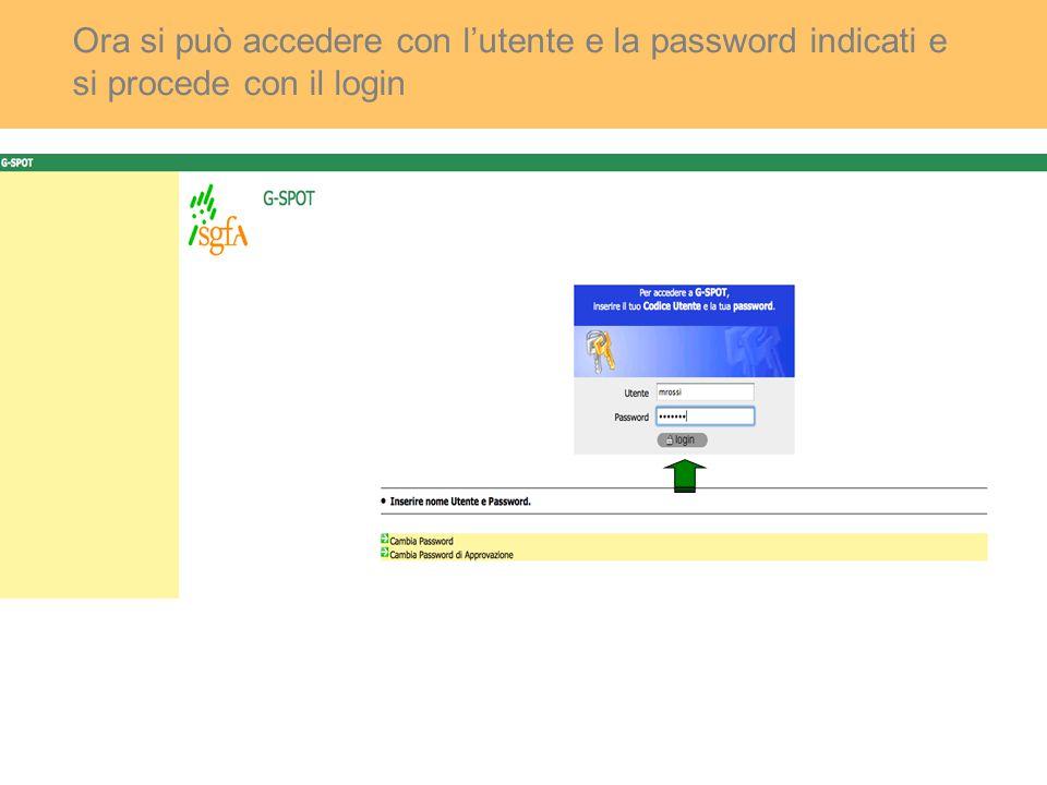 Per inserire una richiesta si accede in 'Prodotti & Servizi'