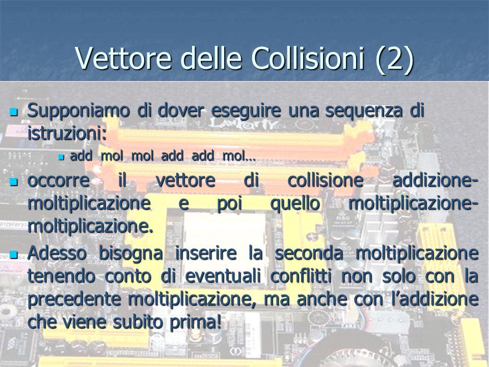 Sistemi ad elevate prestazioni - Prof. re Nicola Mazzocca Hardware per la Gestione delle Collisioni