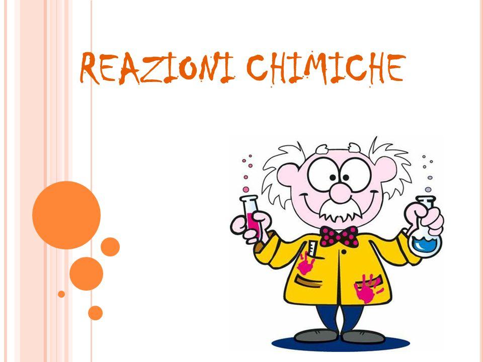 REAZIONI CHIMICHE