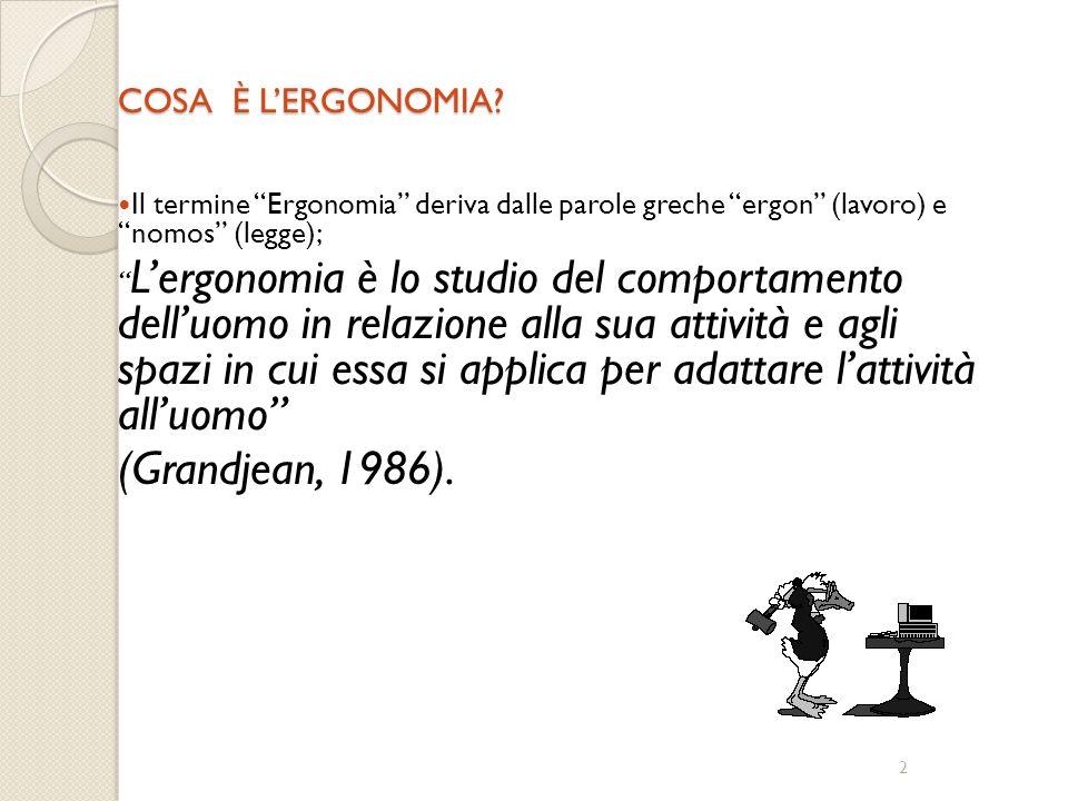 Ergonomia Il lavoro al servizio dell'uomo C3 ing. Domenico Mannelli www.mannelli.info