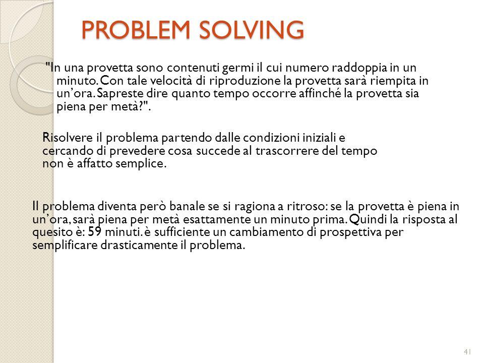 41 PROBLEM SOLVING