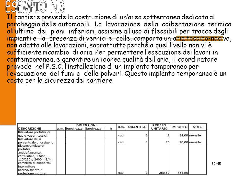 2009 25/45 Il cantiere prevede la costruzione di un'area sotterranea dedicata al parcheggio delle automobili. La lavorazione della coibentazione termi