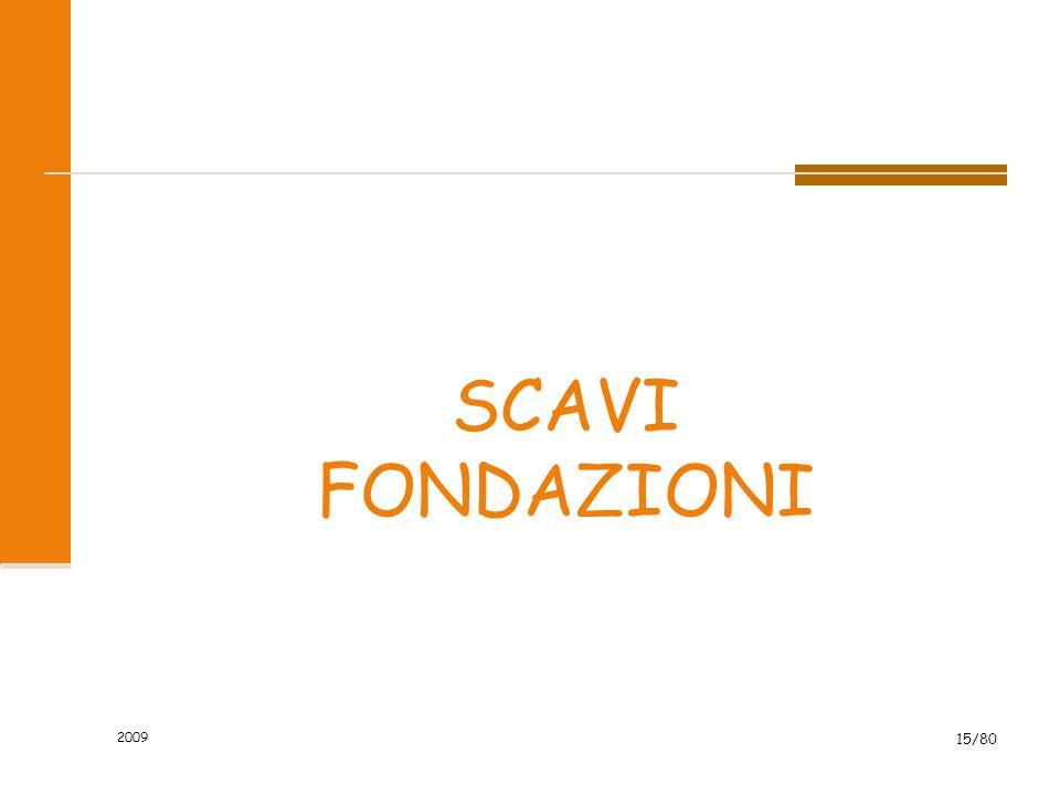 2009 15/80 SCAVI FONDAZIONI