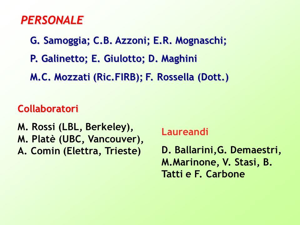 G. Samoggia; C.B. Azzoni; E.R. Mognaschi; P. Galinetto; E.