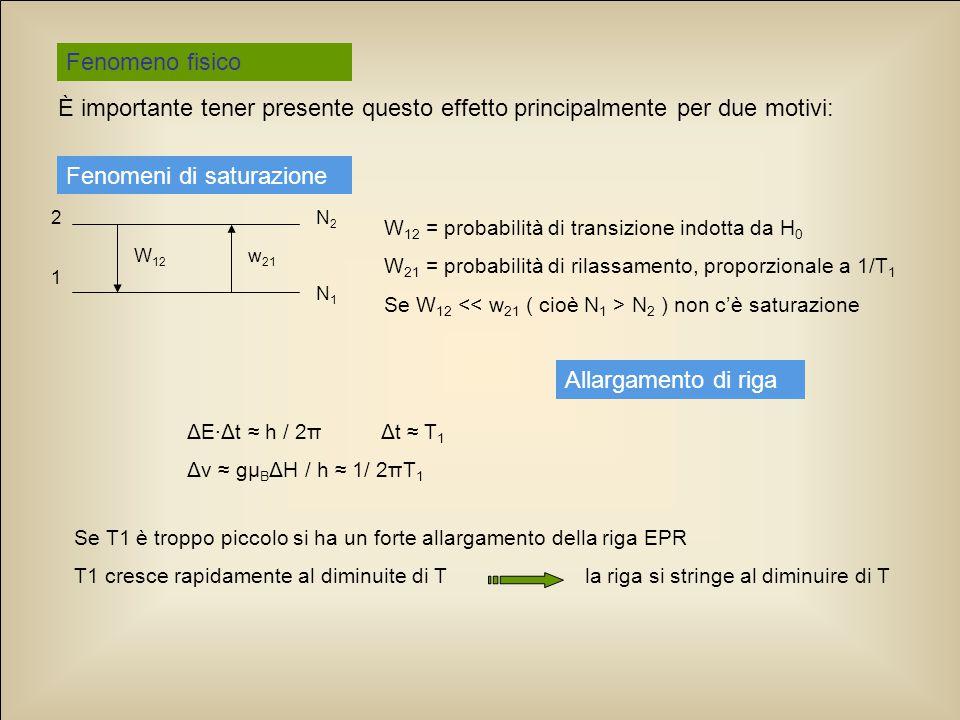 L'utilizzo dell'EPR può anche essere utile nella conservazione di libri antichi: sembra infatti che il deterioramento della carta sia favorito dalla presenza di alcuni ioni paramagnetici ( Cu 2+, Fe 3+ ) e non da altri ( Mn 2+ ) …