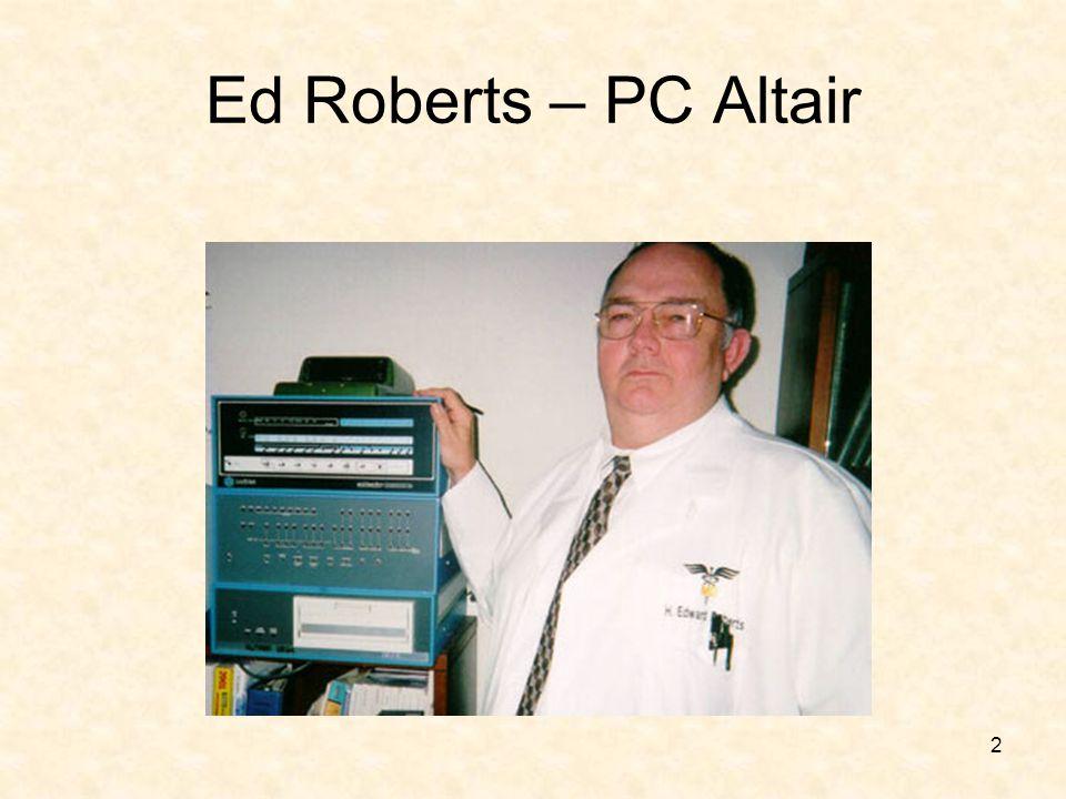 2 Ed Roberts – PC Altair