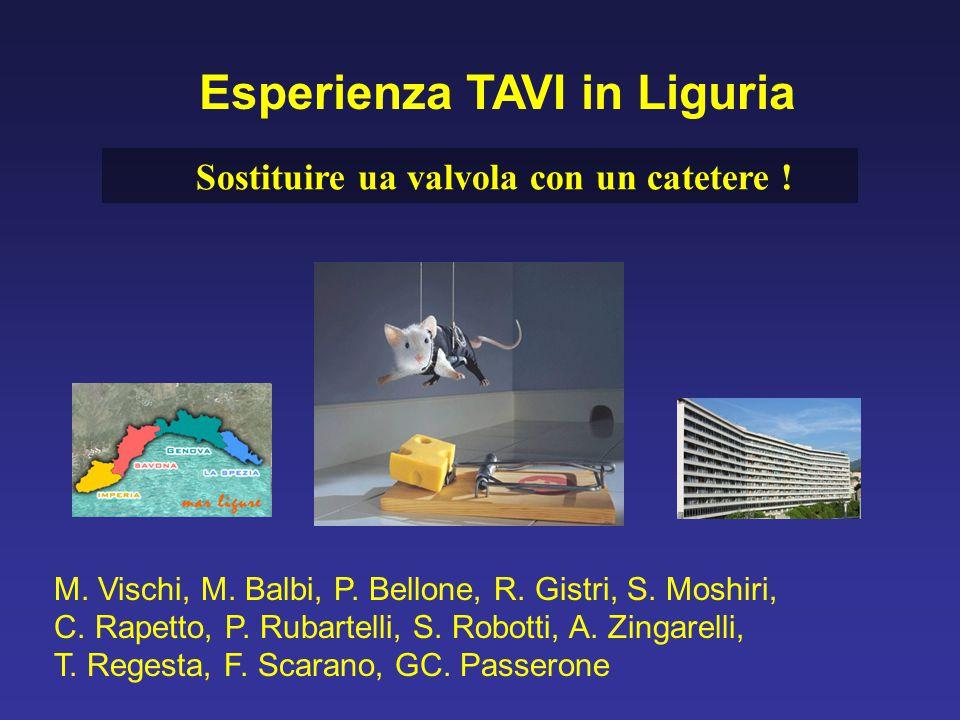 M. Vischi, M. Balbi, P. Bellone, R. Gistri, S. Moshiri, C. Rapetto, P. Rubartelli, S. Robotti, A. Zingarelli, T. Regesta, F. Scarano, GC. Passerone Es