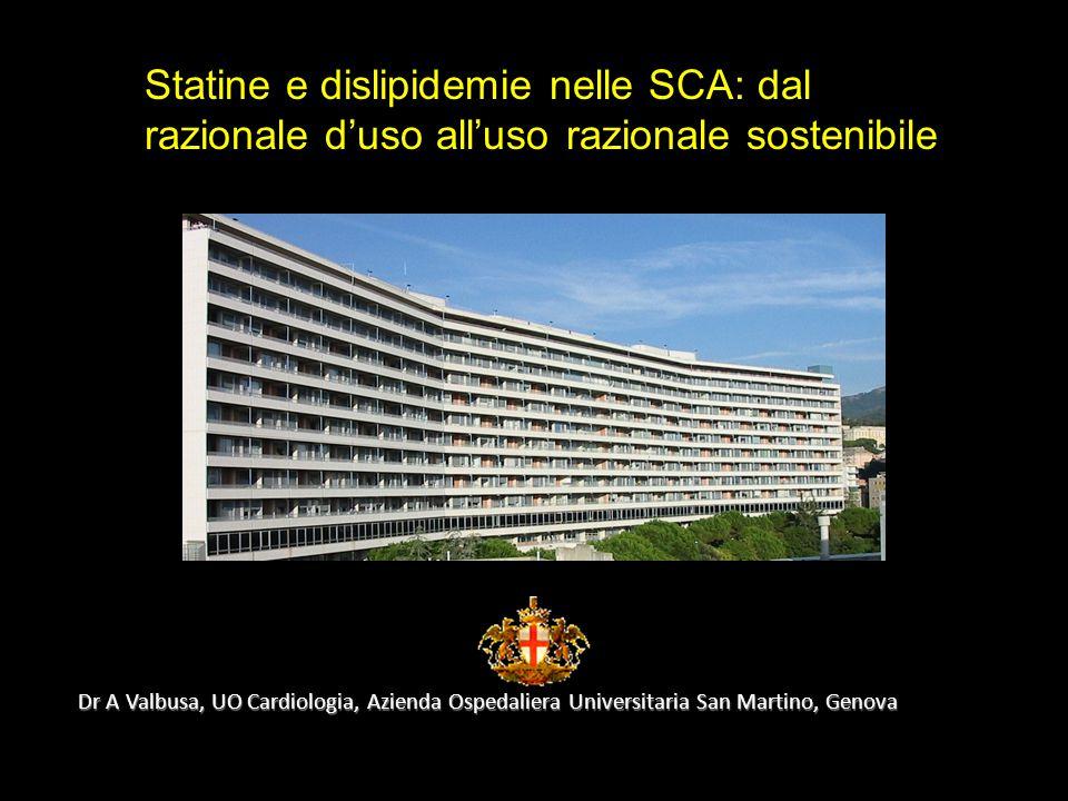www.prisma-project.eu © 2009-2010 Clinical Forum riproduzione riservata Dr A Valbusa, UO Cardiologia, Azienda Ospedaliera Universitaria San Martino, G