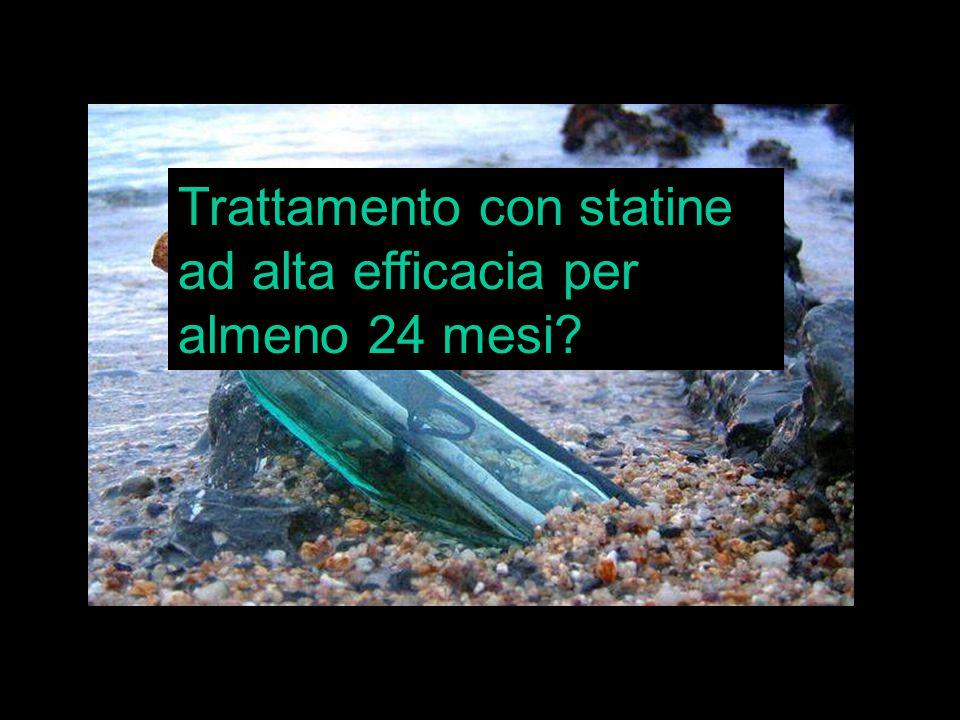 www.prisma-project.eu © 2009-2010 Clinical Forum riproduzione riservata Trattamento con statine ad alta efficacia per almeno 24 mesi?