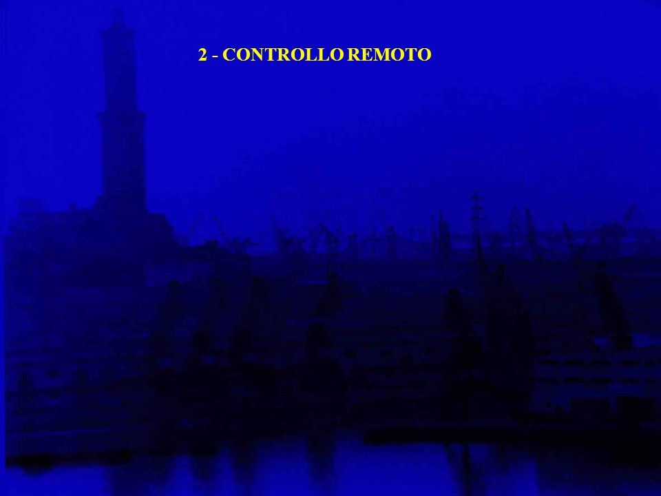 2 - CONTROLLO REMOTO