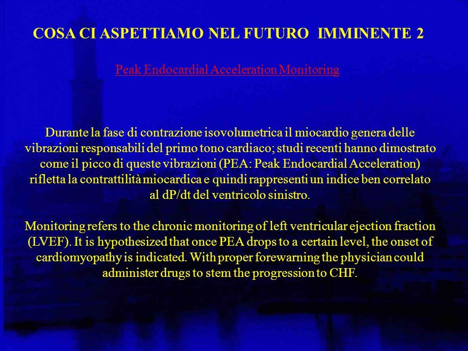 COSA CI ASPETTIAMO NEL FUTURO IMMINENTE 3 An implantable glucose monitoring system is the future in diabetes treatment.