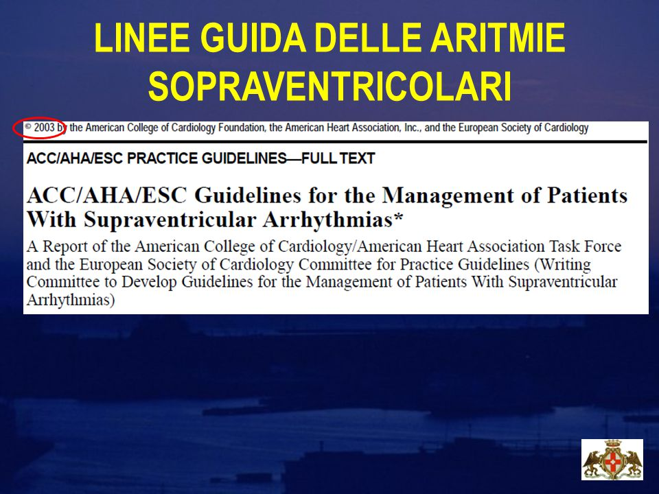 Circ Arrhythm Electophysiol 2010; 3:32-38 Survey mondiale sul metodo l'efficacia e la sicurezza dell' ablazione transcatetere della fibrillazione atriale