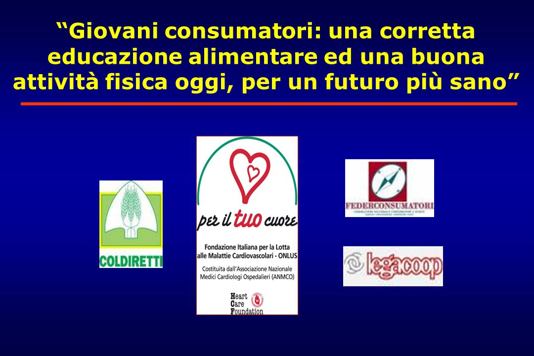 Giovani consumatori: una corretta educazione alimentare ed una buona attività fisica oggi, per un futuro più sano