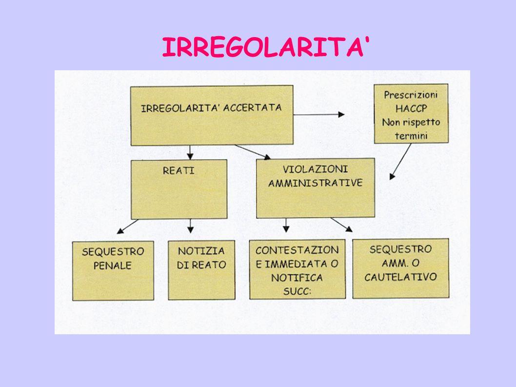IRREGOLARITA'