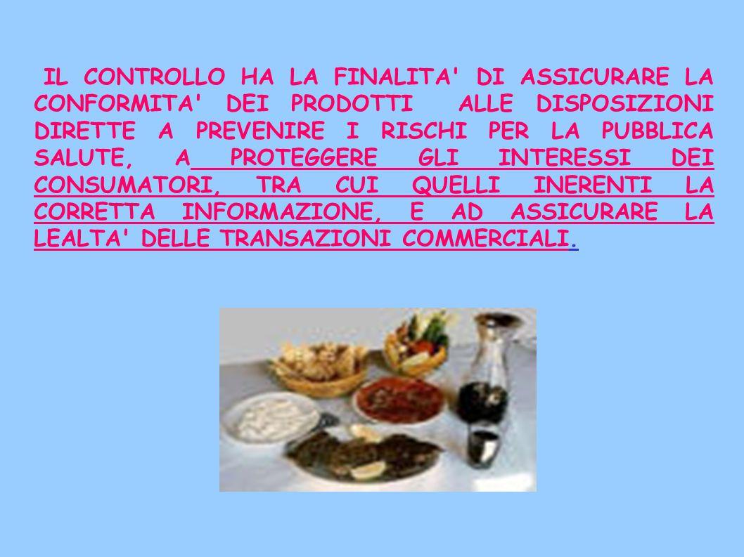 CONTROLLI PRODOTTI BIOLOGICI -organi ispettivi sanitari- A) Produzione B) Commercializzazione