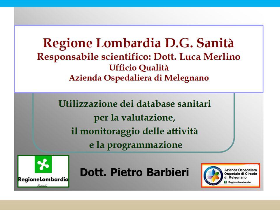 Autore | Data Dott. Pietro Barbieri