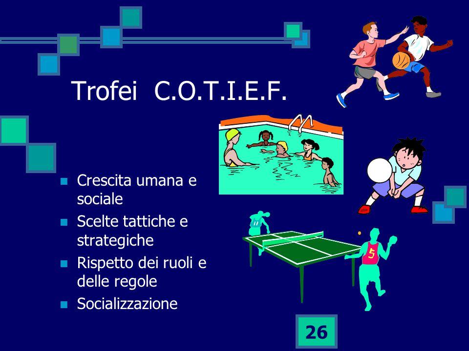 26 Trofei C.O.T.I.E.F.