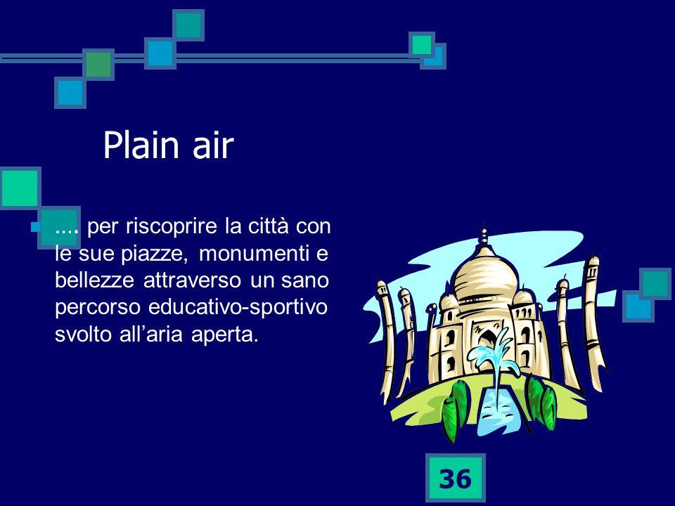 36 Plain air ….
