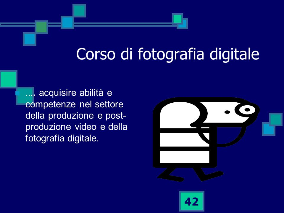 42 Corso di fotografia digitale ….