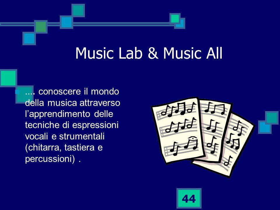 44 Music Lab & Music All ….