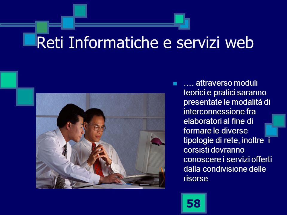 58 Reti Informatiche e servizi web ….