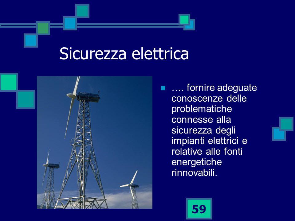 59 Sicurezza elettrica ….