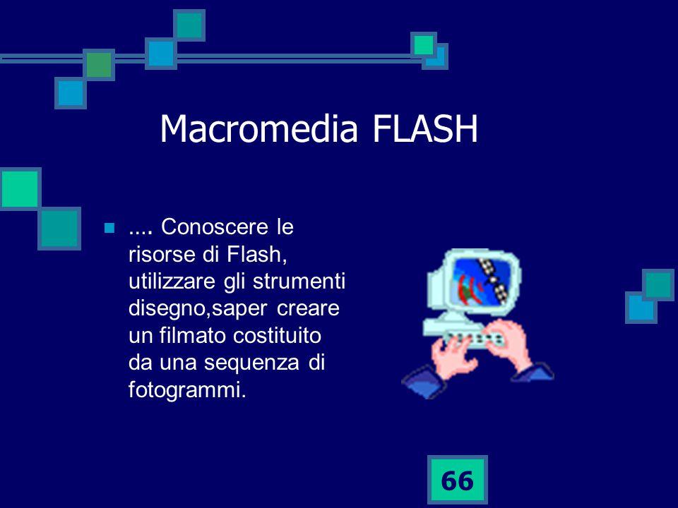 66 Macromedia FLASH ….