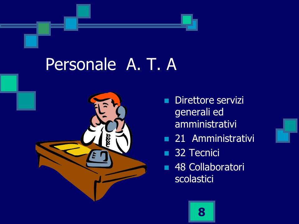 8 Personale A.T.