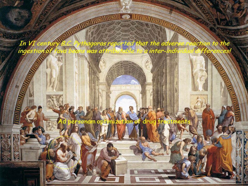 In VI century B.C.
