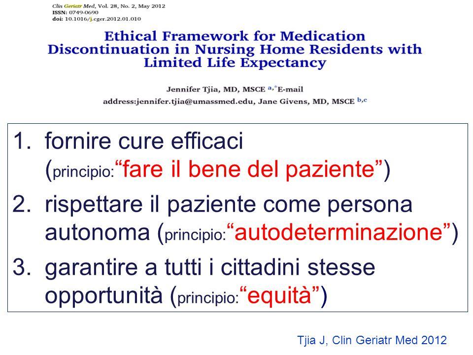 """1. 1.fornire cure efficaci ( principio: """"fare il bene del paziente"""") 2. 2.rispettare il paziente come persona autonoma ( principio: """"autodeterminazion"""