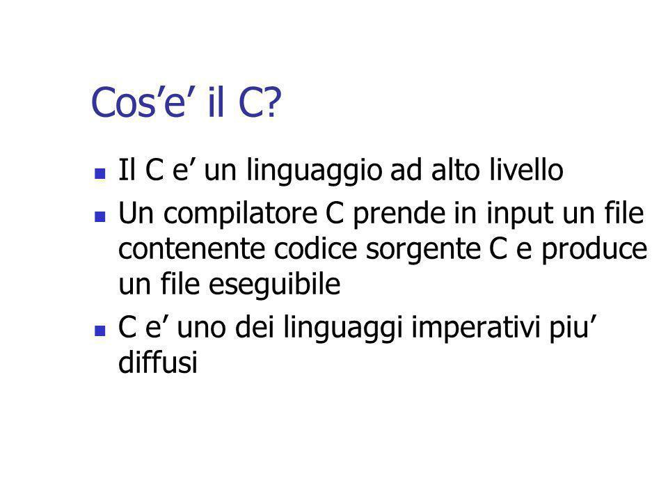 Cos'e' il C.