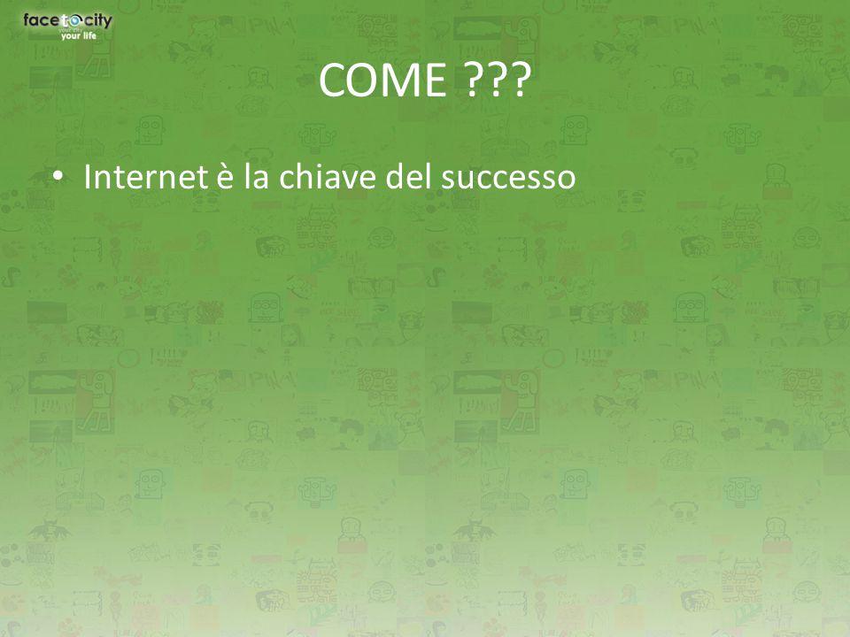 Internet è la chiave del successo