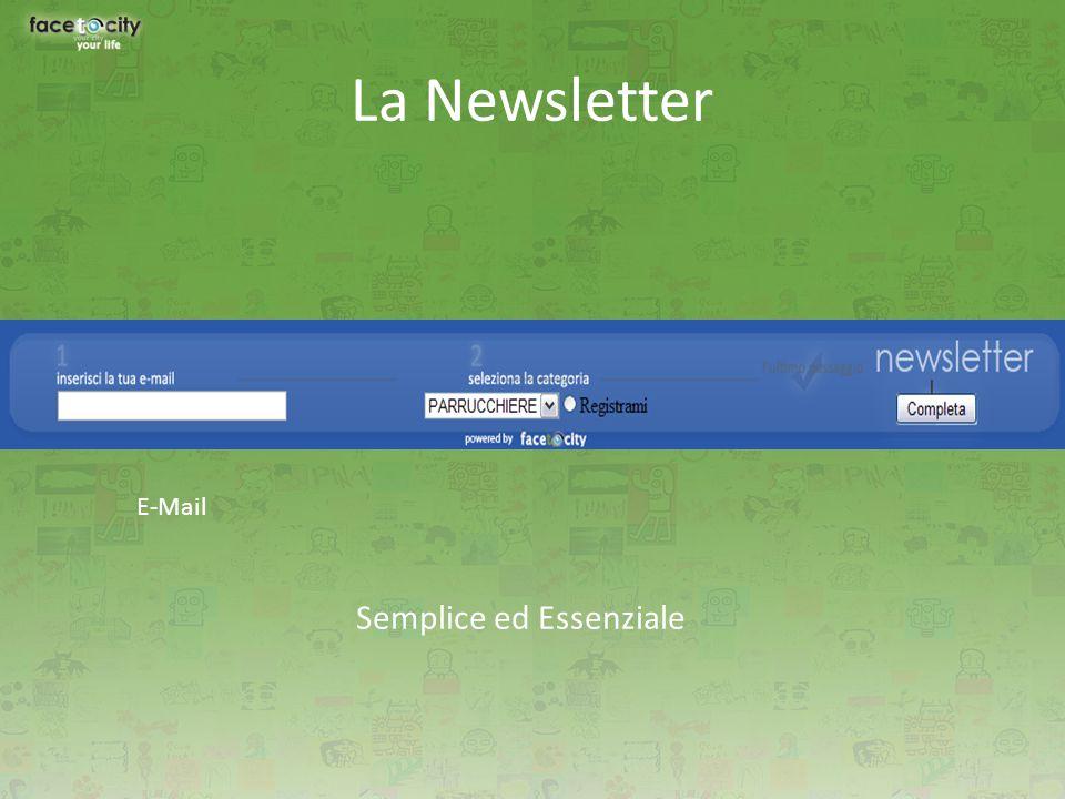 La Newsletter Semplice ed Essenziale E-Mail