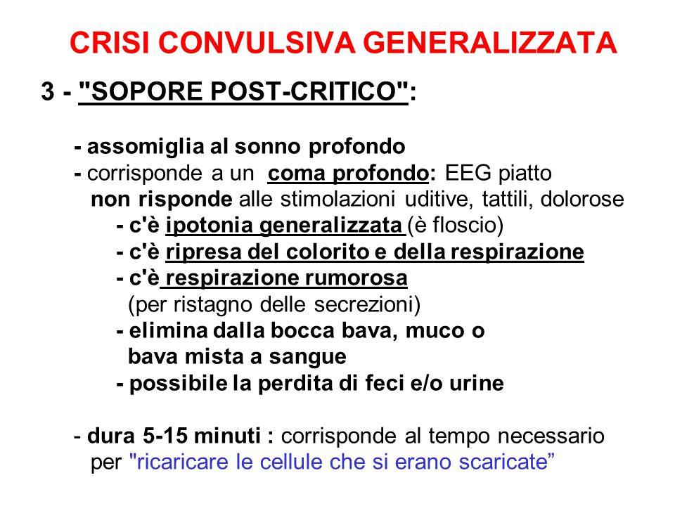 CRISI CONVULSIVA GENERALIZZATA 3 -