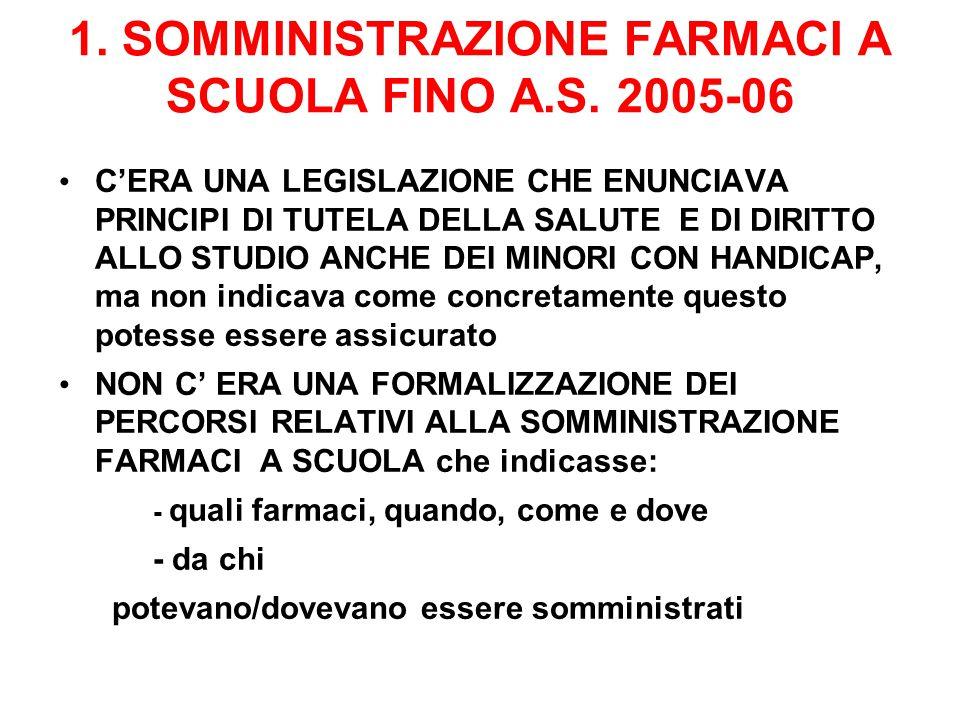 ANNO SCOLASTICO 2008-09 : 2087 CERTIFICAZIONI A LIVELLO REGIONALE 2440 FARMACI AUTORIZZATI IN R.E.R.