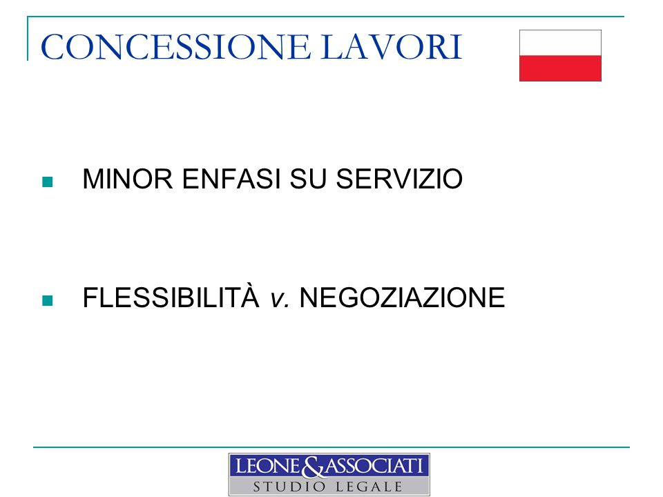 CONCESSIONE LAVORI DIALOGO COMPETITIVO Ideale => vd.