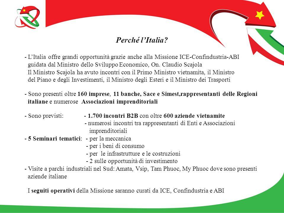Perché l'Italia.