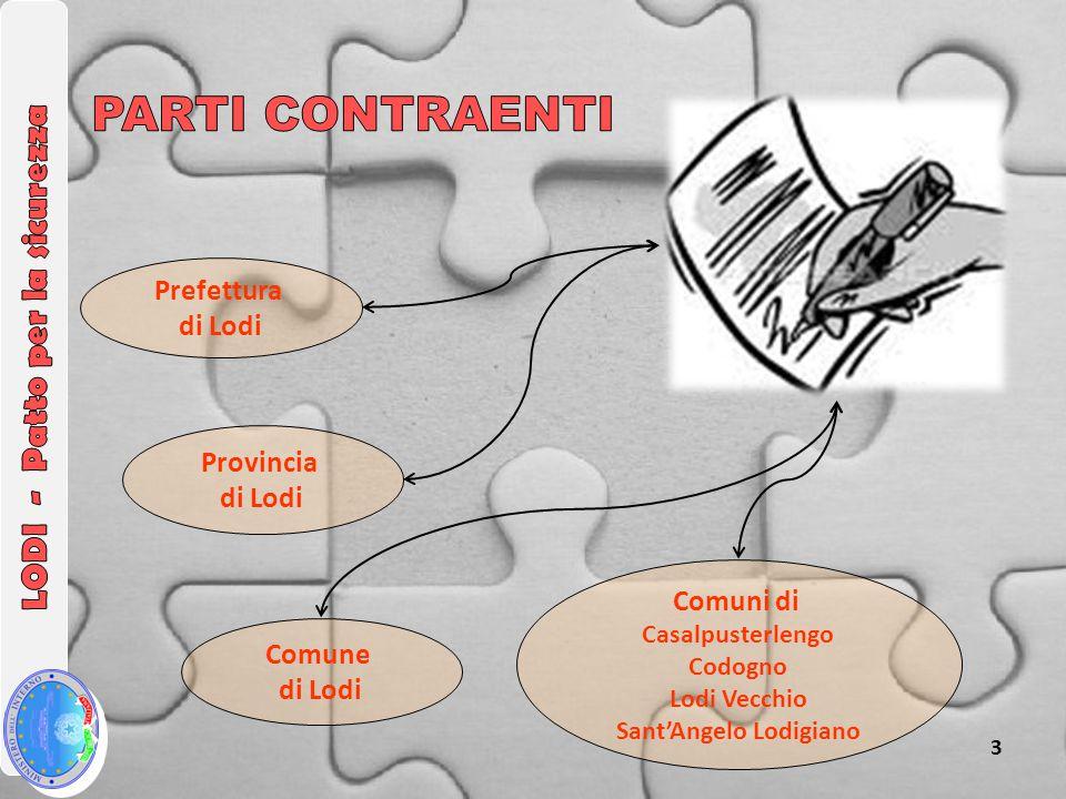3 Comune di Lodi Provincia di Lodi Prefettura di Lodi Comuni di Casalpusterlengo Codogno Lodi Vecchio Sant'Angelo Lodigiano