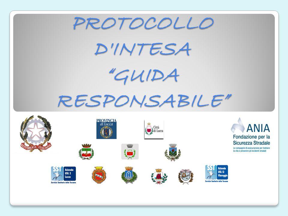 "PROTOCOLLO D'INTESA ""GUIDA RESPONSABILE"""