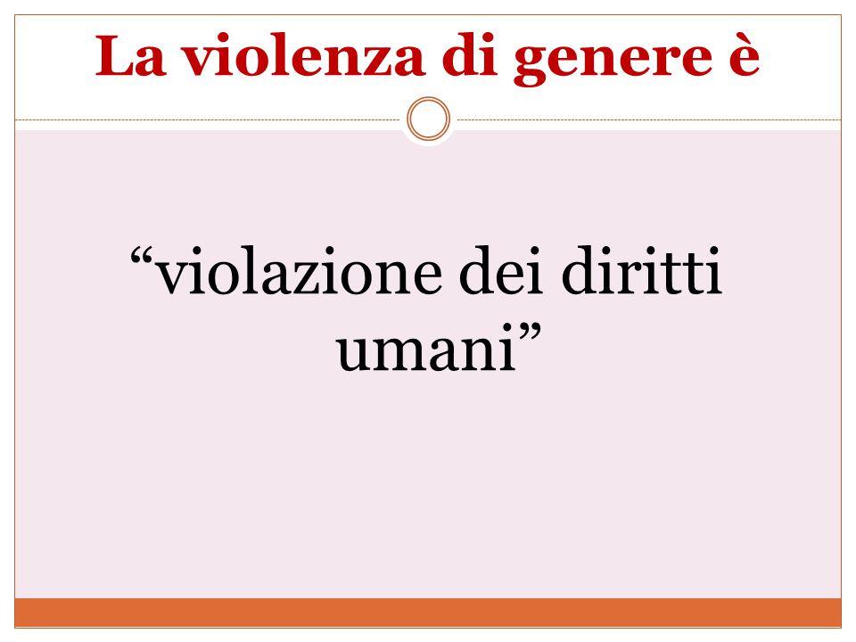 La violenza di genere rappresenta un problema di salute pubblica da affrontare con un approccio multidisciplinare e scientifico