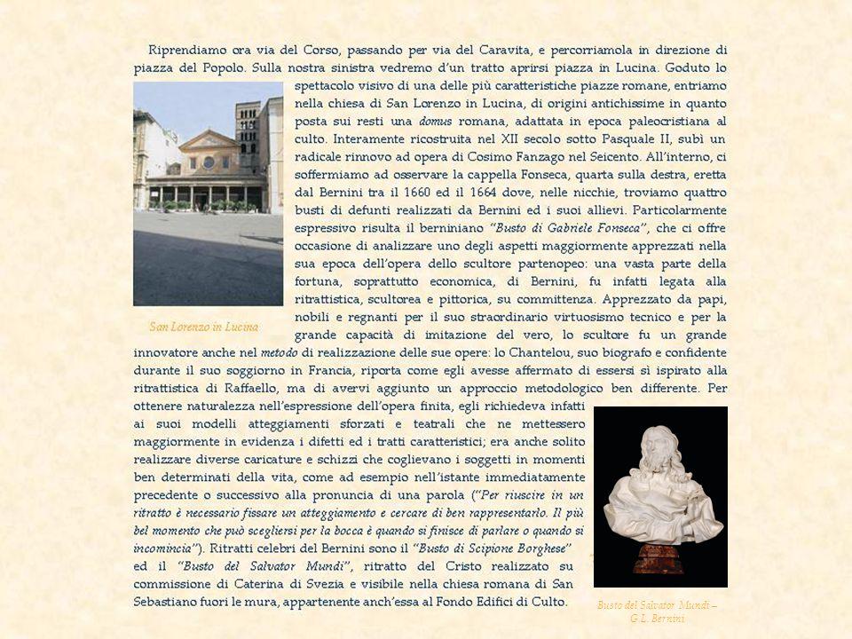 Busto del Salvator Mundi – G.L. Bernini