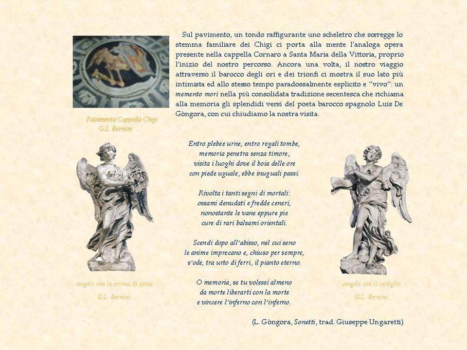 Angelo con la corona di spine G.L. Bernini Angelo con il cartiglio G.L. Bernini