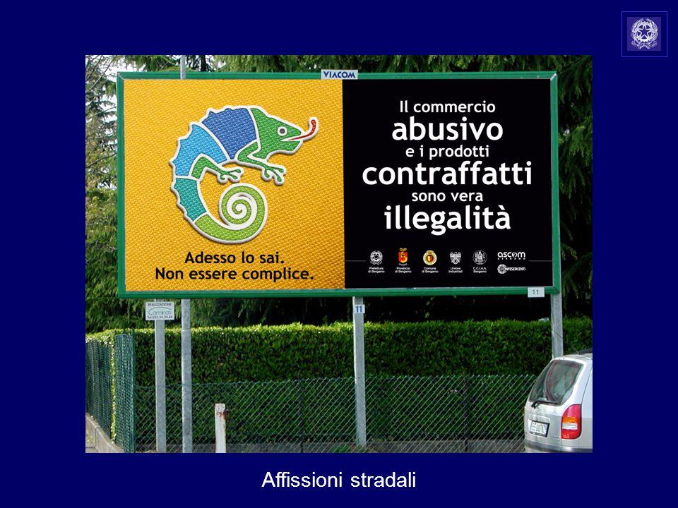 Affissioni stradali